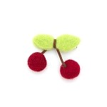 Cherry Sherry Hair Clip - for kids