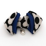 Royal Blue Rie Hair Clip - for all ages