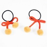 Carrot Saloni Pigtail Holder - for girls