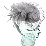 Gray Sarah Hat - for women