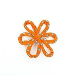 Orange Savannah Hair Clip - for all ages