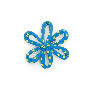 Spanish Blue Savannah Hair Clip - for all ages