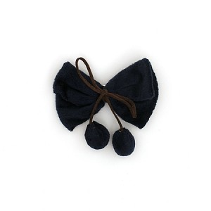 Navy Blue Shaila Hairclip - for girls