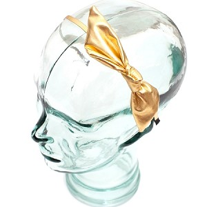 Gold Sofia Headband - for all ages