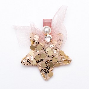 Gold Stella Hair clip - for all kids