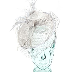 Gray Valerie Fascinator - for women