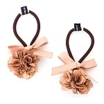 Gold Zinnia Pigtail Holder - for girls