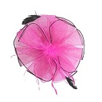 Fuchsia Zoe Fascinator - for women