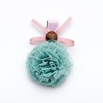 Seafoam Zuzu Hair clip - for all kids